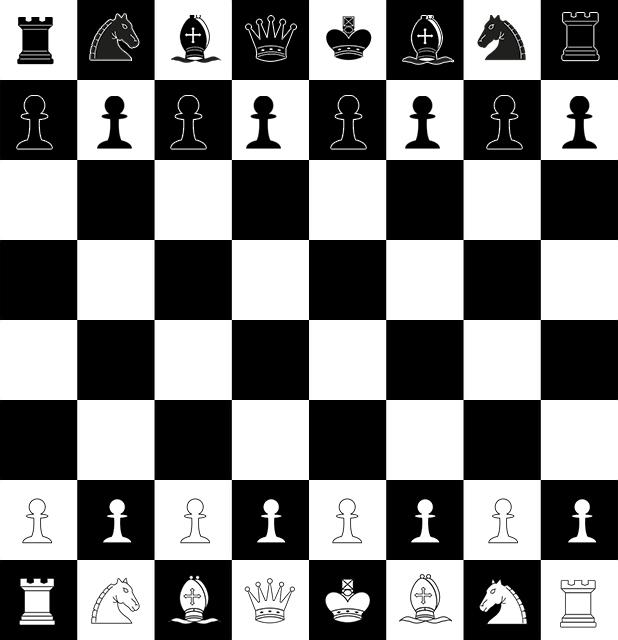 Первоначальная расстановка шахмат