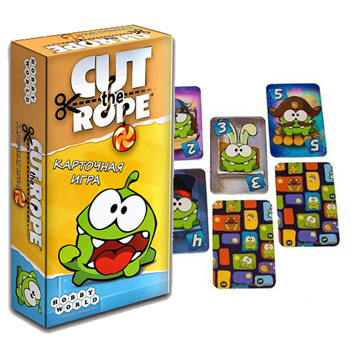 Карточная настольная игра Cut the Rope