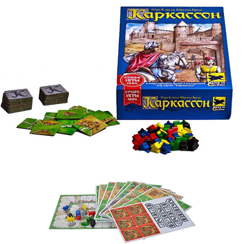 Настольная игра Каркассон