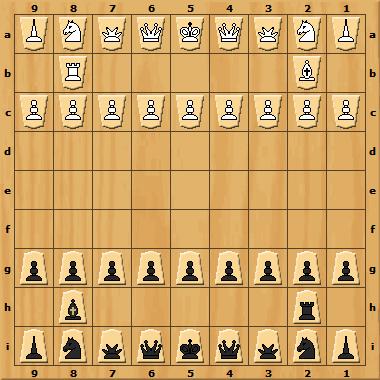 Настольная игра Сёги (японские шахматы)
