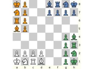 Настольная игра Чатуранга