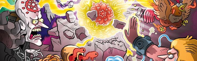 Настольная игра Эпические схватки боевых магов