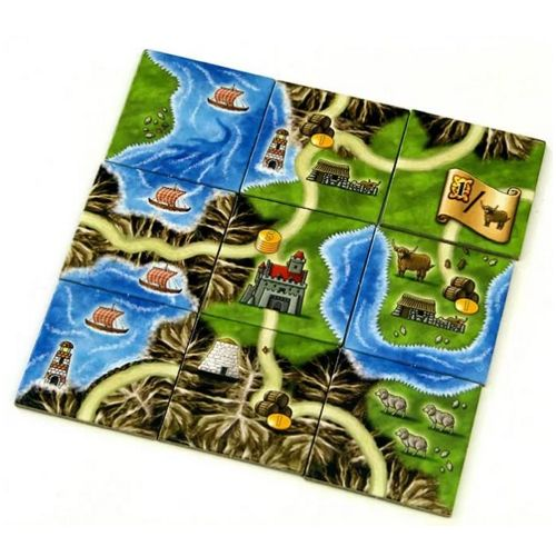 Настольная игра Остров Скай