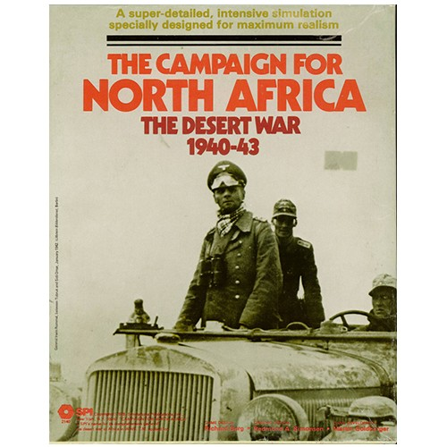 Настольная игра The Campaign For North Africa