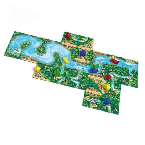 Настольная игра Каркассон.Амазонка