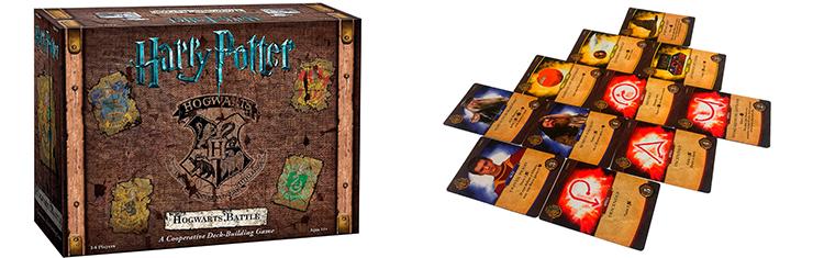 Настольная игра Гарри Поттер: Битва за Хогвартс